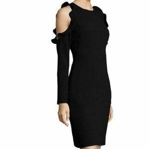 New Black Halo Black Rocco Sheath Dress sz 6